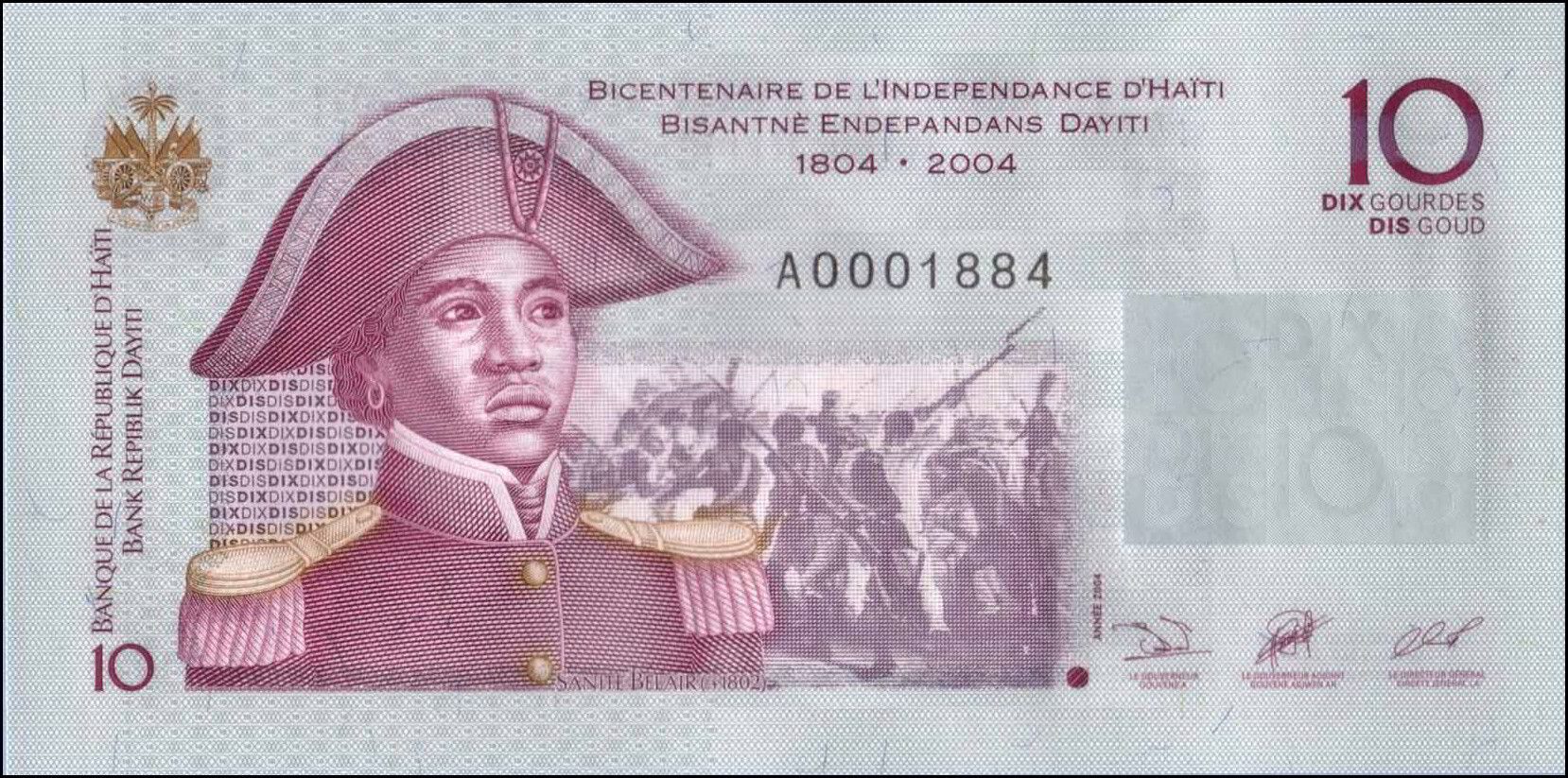 Bicentennial celebration of Haiti's Independence